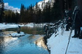 A few photographers on the Merced River