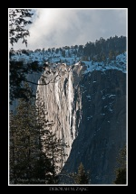 Teasing Horsetail Fall