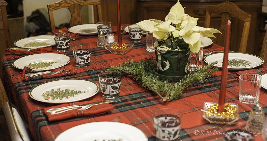 Marilyn's Christmas Table