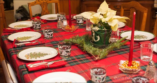 Marilyn's Christmas Table