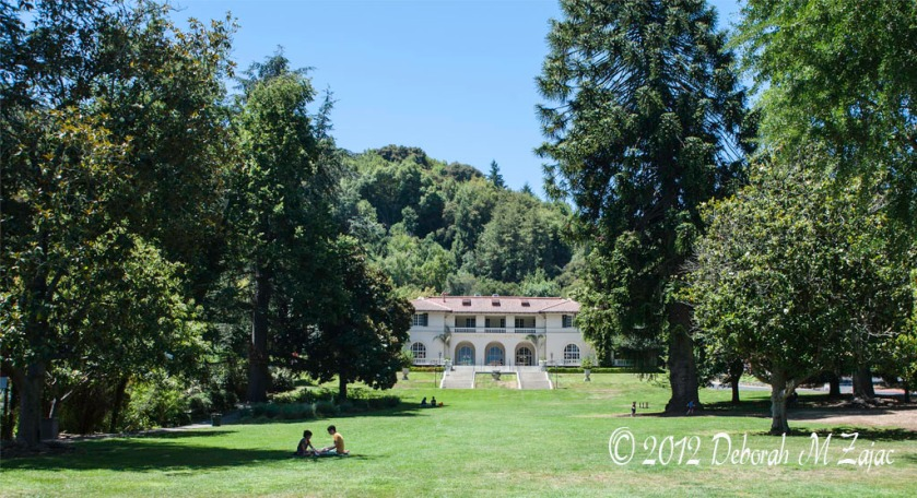 Villa Montalvo from the great lawn