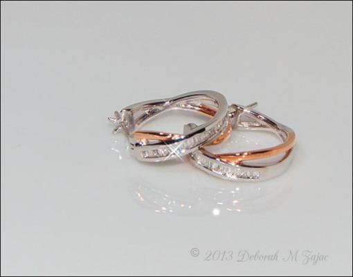 Rose Gold Ear rings