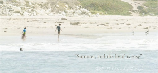 """""""Summer, and the livin is easy"""""""
