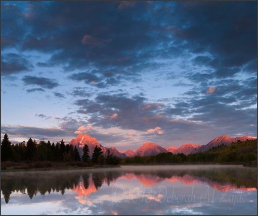 Sunrise Oxbow Bend and Mt. Moran
