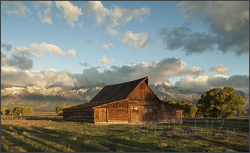 Moulton Barn-Mormon Row Grand Tetons National Park