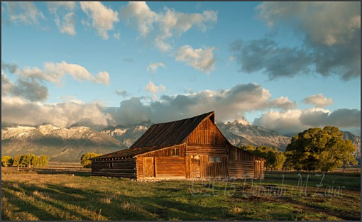 Moulton Barn-Mormon Row Grand Tetons National Park