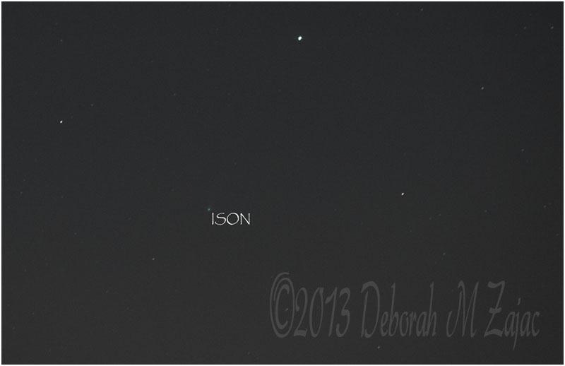 Comet ISON Novemeber 18, 2013