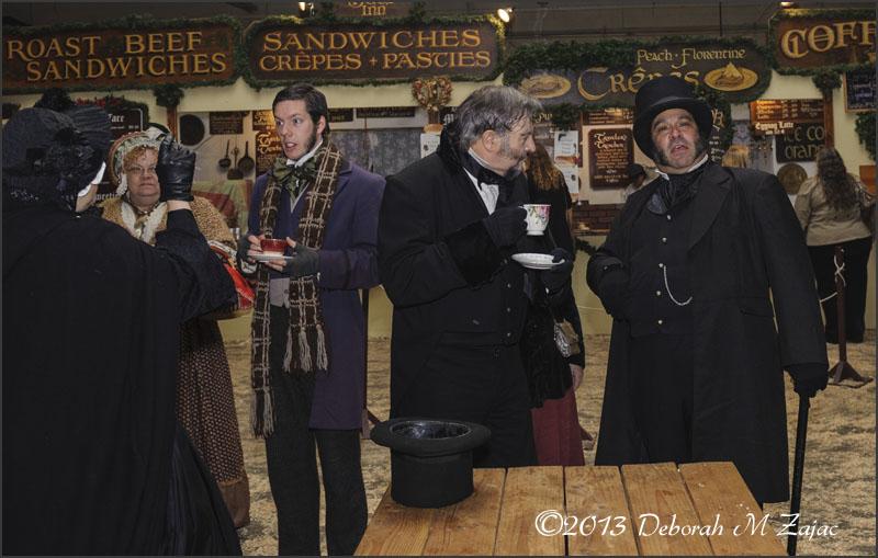Ebenezer Scrooge and Gentleman