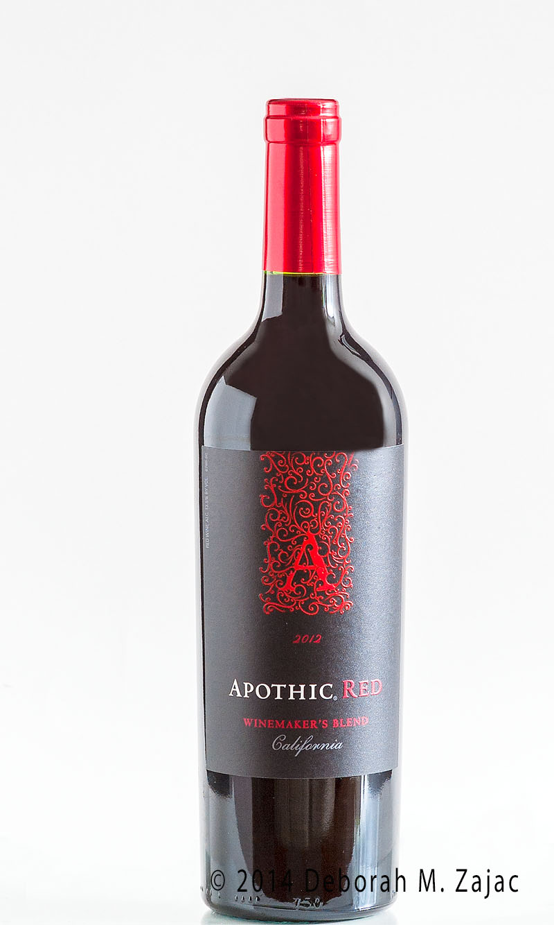 Apothic Red Wine Bottle Shot