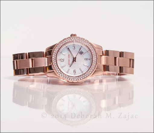 """""""Madison"""" Rose Gold Watch by Michael Kors"""