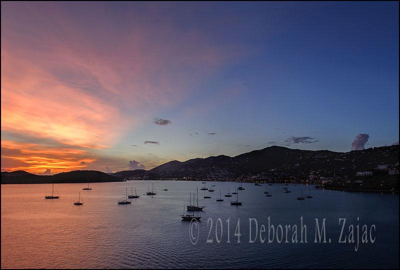 Daybreak ST Thomas Island
