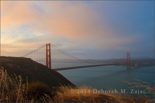 Sunrise over San Francisco California