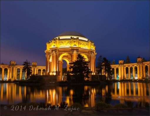The Palace of Fine Arts San Francisco