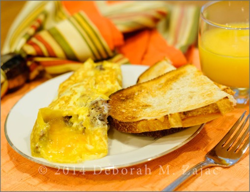 Beef and Cheese Omelette