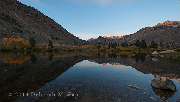 Alpine Glow over Intake Lake 2