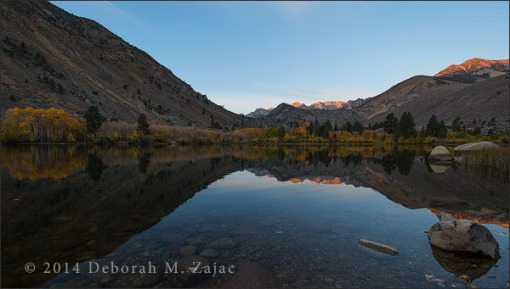 Alpine Glow over Intake Lake 2