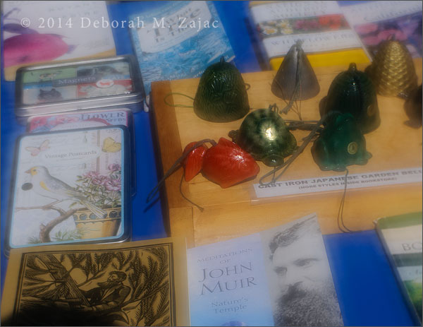 Japanese Cast Iron Garden Bells and Books