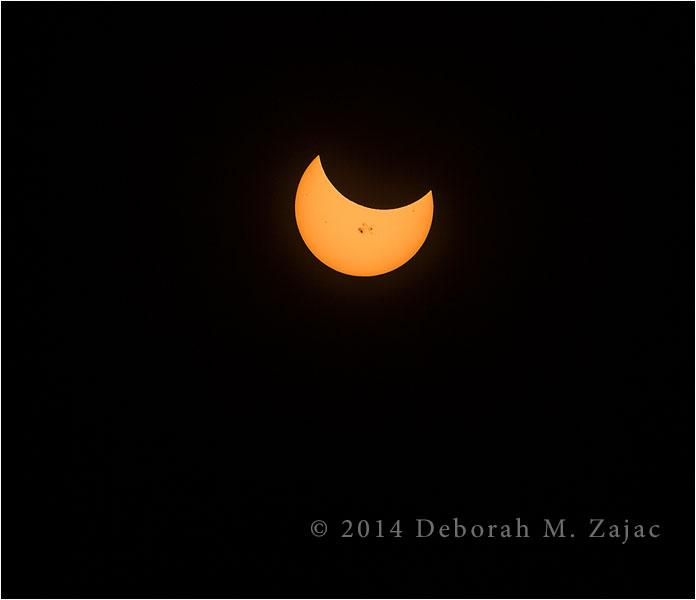 P52 43 of 52 Partial Solar Eclipse
