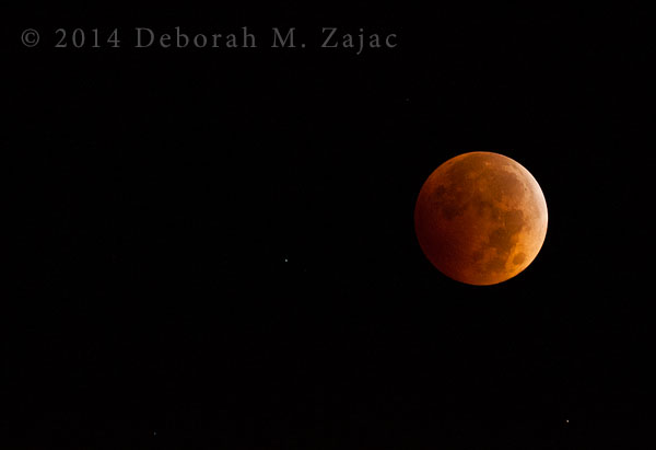 Totality Lunar Eclipse October 8, 2014