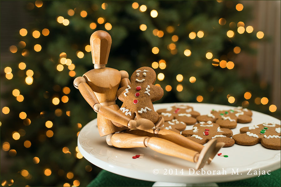 News Flash! Woody Catches the Gingerbread Man!