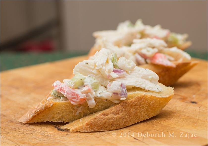 Seafood Crostini