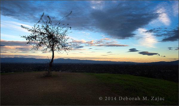 Sunset Santa Clara Valley