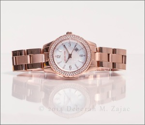 """Madison"" Rose Gold Watch by Michael Kors"