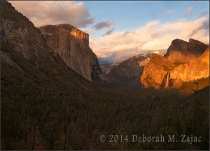 P 52 14 of 52 Tunnel View Golden Hour