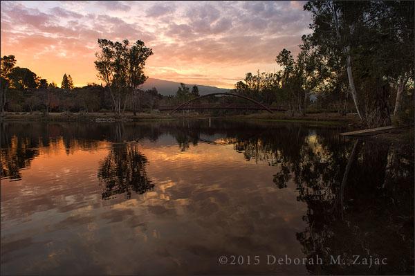 Dawn Vasona Lake Park Los Gatos CA