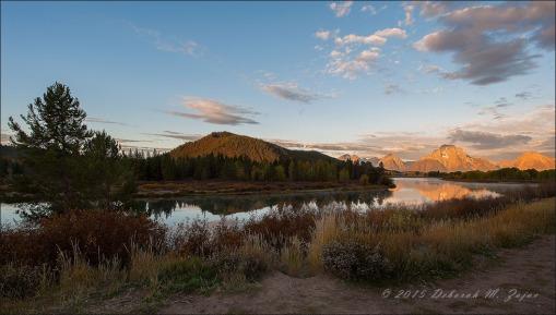 Mount Moran and Snake River Daybreak