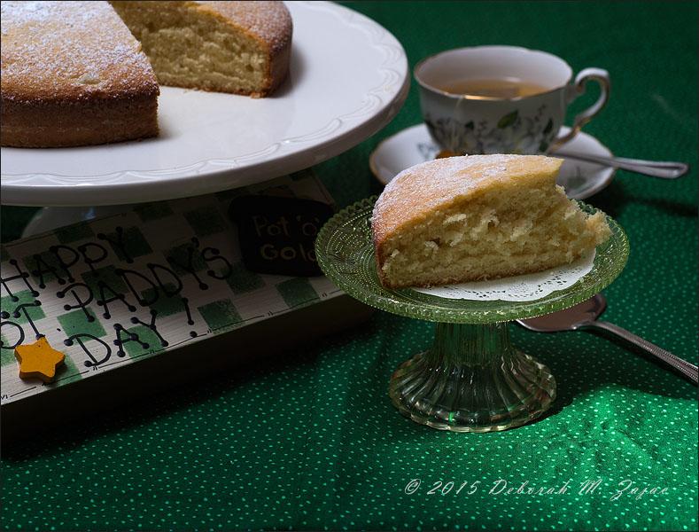 Irish Tea Cake and Tea