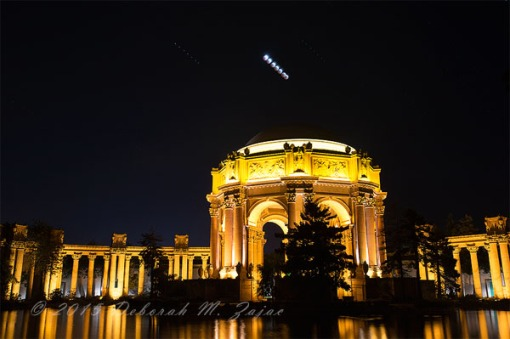 Total Eclipse partial sequence over The Palace of Fine Arts
