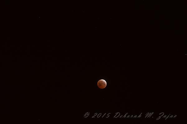 Totality Lunar Eclipse April 4, 2015 at 200mm