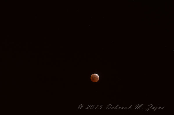 Totality Lunar Eclipse April 4, 2015 at 200mm