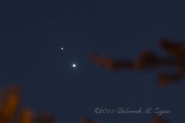Venus Jupiter and Moons Conjunction_9054