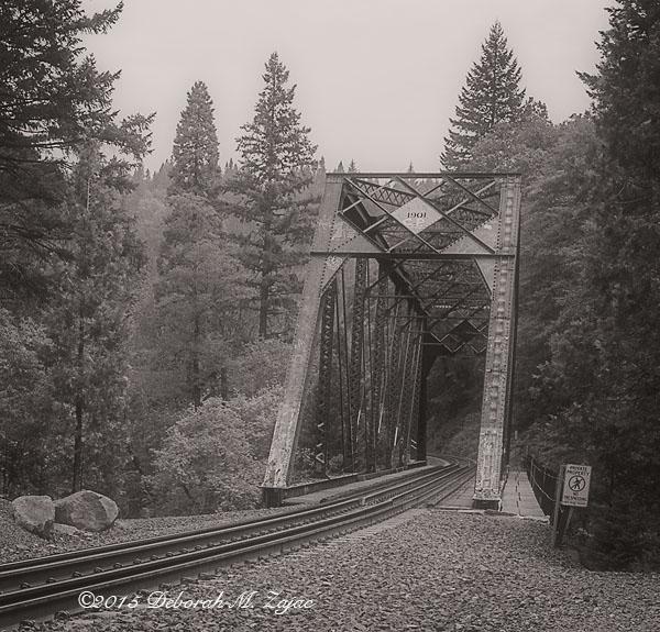 Monochrome Madness 2 23 of 52 1901 Trestle Bridge