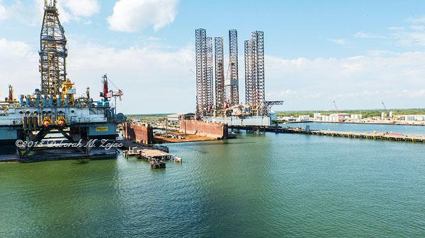 Dry Dock Pelican Island Galveston TX
