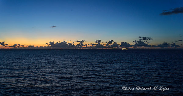 Sunrise at Sea Day 2 Gulf of Mexico