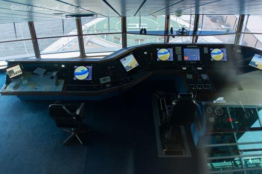 The Bridge Navigator of the Seas