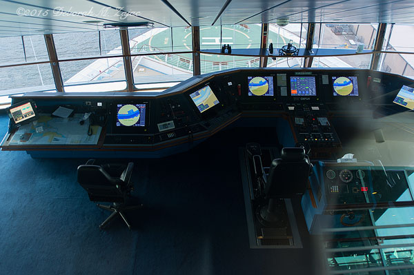 The Bridge Navigator of the Seas