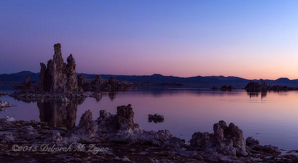 Morning Twilight Civil Mono Lake