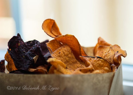 P52 42 of 52 Sweet Potato and Beet Chips