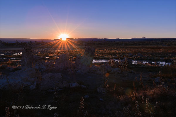 Daybreak over Mono Lake on a Fall Morning