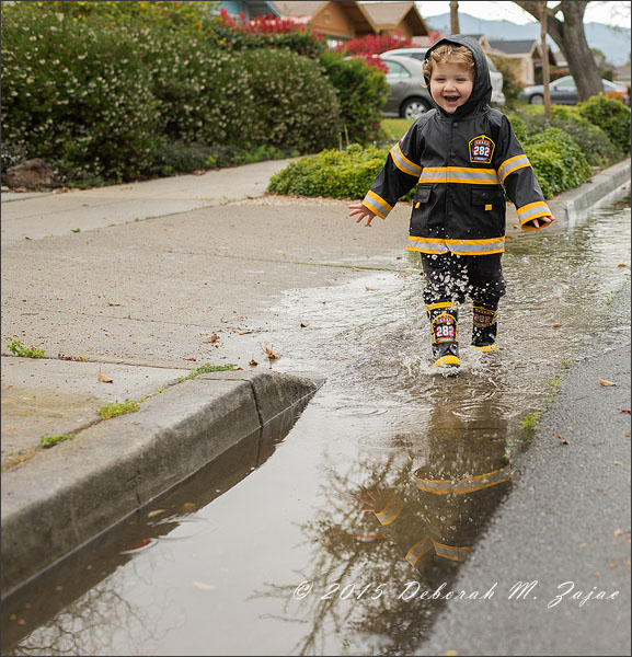 Running in Puddles