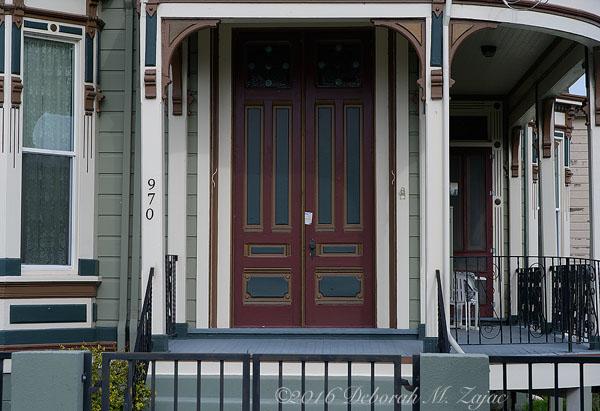 Tilden Laine House Front Door