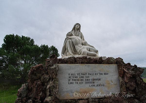 Michael-Angelo's Pieta by Enrico Toricelli