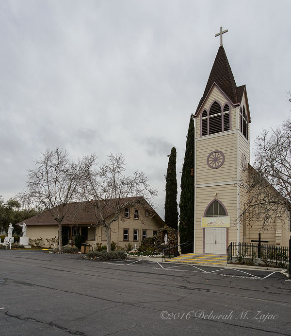 Immuculate Conception Catholic Church Tres Pinos