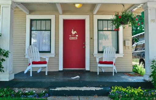 Red door Nº40 Campbell, CA