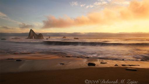 Sunset Martin's Beach Half Moon Bay