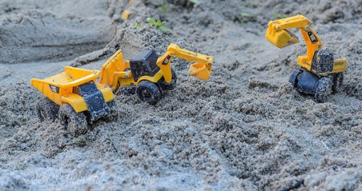 Toys in the Sandbox-Yellow_Photography